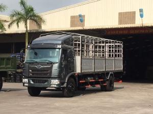 xe tải faw 8 tấn thùng dài 8m chở hàng cồng kênh