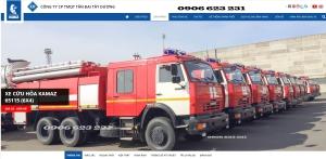 Xe cứu hoả Kamaz 8m3 | Xe chữa cháy Kamaz 2020