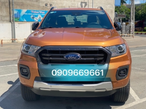 Ranger Wildtrak 2.0 Bi-turbo 2018 màu cam