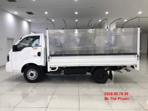 Bán xe tải 1,4 tấn 2,4 tấn KIA K250 thùng mui bạt inox . Tặng 50% trước bạ