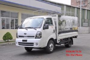 Bán xe tải 1,4 tấn 2,4 tấn KIA K250 thùng mui bạt inox . Tặng 50% trước bạ. Giá tháng 6/2021