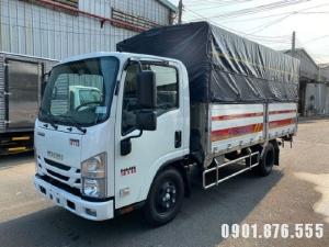 Isuzu NMR310 3 tấn thùng dài 4m4 trả góp 80% xe có sẵn giao ngay