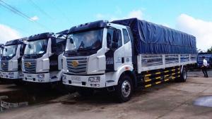 Mua Xe Tặng VÀNG đầu tháng 8, Xe tải FAW 7t25 thùng dài 9m7 duy nhất miền Nam