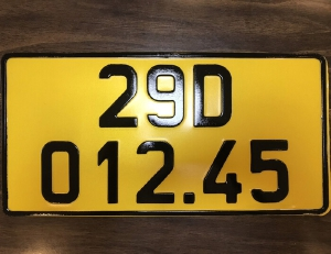 Xe tải, xe khách, taxi, xe hợp đồng kinh doanh vận tải phải đổi biển màu vàng có hiệu lực từ tháng 1/8/2020