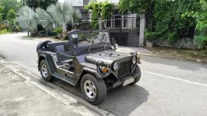 HCM - Bán Jeep lùn A2, máy xăng, bánh béo