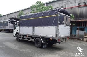 Xe Tải Isuzu 1.9 tấn/ xe tải isuzu 1T9 Thùng 4M3/ xe tải isuzu QKR77 trả góp.