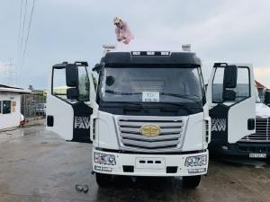 Xe tải FAW 7t25 thùng dài 9m7 , xe tải thùng dài chở nệm palet.2021