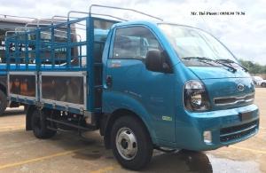 Bán Xe Tải KIA K250 thùng 5 bửng  khung nhôm, tải 2,5 tấn. xe sẳn giao ngay
