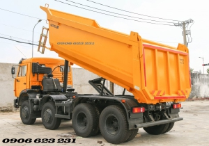 Mua bán xe Kamaz 6540 (8x4) Tháng 8/2020