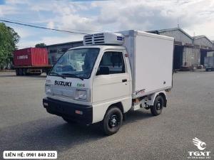Suzuki Truck thùng đông lạnh giá 3xx triệu, giao xe sau 7 ngày làm việc