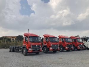 Đại lý xe tải Thaco 3 chấn thùng dài 9.5 mét tại Hải Phòng.