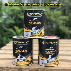 Dầu nhớt xe máy Power Up 10W40 nhập khẩu Malaysia, phân phối sỉ lẻ trên toàn