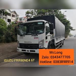 Xe tải Isuzu FRR90NE4 Thùng bạt 6T