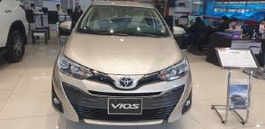 Toyota Vios 1.5G CVT đủ màu giao ngay, khuyến mãi giảm giá cực sốc