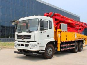 Báo giá xe bơm bê tông cần dài 30m, 37m, 52m nội địa Trung Quốc - dòng cơ sở DongFeng 2014 - 2015 - 2017