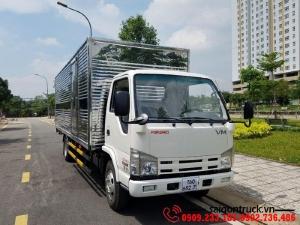 Xe tải Isuzu VM 1.9 tấn thùng dài 6m2|Giá tốt