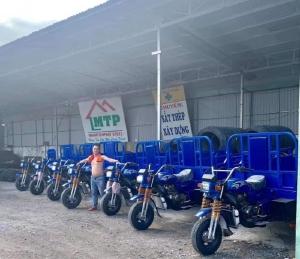Mua xe ba bánh xe ba gác xe lôi tại xưởng Huy Anh TPHCM