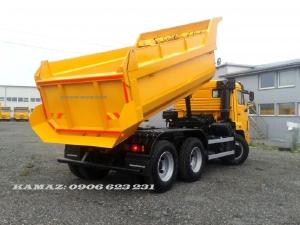 Xe ben Kamaz 15 tấn mới nhất 2020 | Mua bán xe ben Kamaz 65115 cũ & mới
