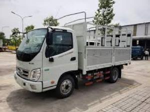 Xe Thaco OLLIN345.E4 Mui Bạt 2t3 -3t49 thùng dài 3m7 tại Bình Định