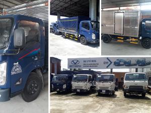 Xe tải Đô Thành IZ65 Gold thùng mui bạt chắc chắn - Giá bán, ưu đãi trả góp từ TPHCM về các tỉnh