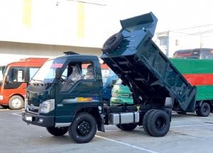 Bán xe ben 2.5 tấn Thaco FD250 trả góp tại Hải Phòng