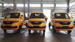 Mua Xe tải Dongben SRM 930kg thùng kín đời 2020