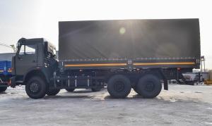 Tải thùng Kamaz 53229 | Bán xe tải Kamaz 15 tấn  thùng 6m3 tại Bình phước