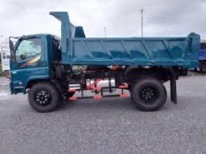 Bán xe ben 6 tấn rưỡi 2 cầu Thaco FD650 tại Hải Phòng