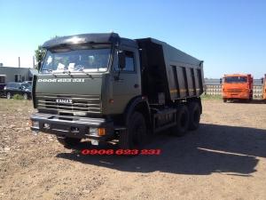 Xe ben Kamaz 15 tấn | Kamaz 65115 (6x4) GA CƠ [ Trả góp] Giá bán xe ben 3 chân Kamaz mới nhất 2020