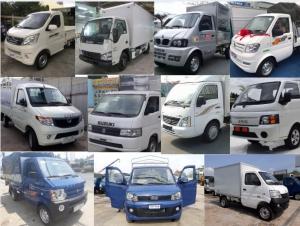 Bảng giá xe tải nhỏ chở hàng, xe tải dưới 1 tấn cập nhật mới nhất