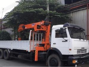 Xe KAMAZ 53229 Gắn Cẩu 5 tấn