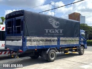 Xe tải Hyundai EX8 GTL thùng dài 5m8 hỗ trợ ngân hàng vay đến 80%
