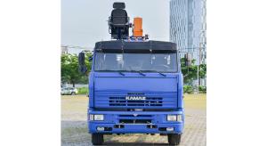 Xe Tải Cẩu Kamaz 65117 (6x4) Gắn Cẩu DINEX 7 Tấn