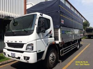 Báo giá xe tải Mitsubishi FA 140 tải 7 tấn, thùng dài 5,3 và 6,2 mét. phanh khí nén