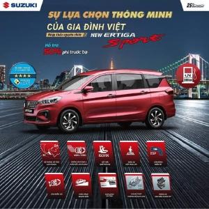Gía Xe Suzuki Ertiga Sport 2020 ( At Đặc Biệt ) Màu Đỏ - Khuyến Mãi 40 Triệu