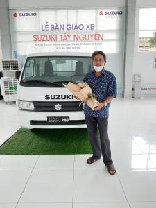 Xe Suzuki Carry Pro 2020 ( 750kg ) Thùng Lửng - Giảm Ngay 20 Triệu + Qùa Tặng