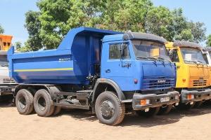 xe ben kamaz 65115 (6x4), thùng oval 10 m3