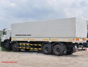 Kamaz 6540, Bán xe tải thùng Kamaz 6540 thùng 9m nhập khẩu Nga 2016