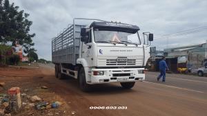 Bán xe tải thùng 15 tấn Kamaz, Giá bán xe tải Kamaz 65117 (6x4) thùng 7m8 mới nhất | Bán xe tải 3 giò Kamaz