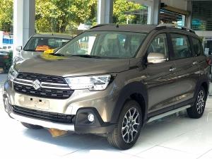 Bán trả góp xe Suzuki XL7 Xám lãi suất thấp - Tặng BHVC + Ghế da + Phụ Kiện