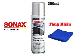 Dung Dịch Bảo Dưỡng Cao Su Lốp Xe Sonax Rubber protectant 3402200 300ml Tặng Khăn-3402200