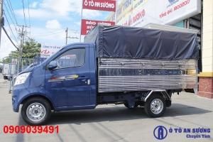 xe tera 100 tải trọng 990kg, động cơ nhật mitsubishi mạnh mẽ, thùng dài nhất phân khúc 2m8