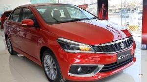 Suzuki Ciaz 2020 màu Đỏ - Đại lý Suzuki Tây Nguyên