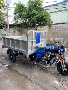 Xe ba bánh Nam Định không ben thùng sắt