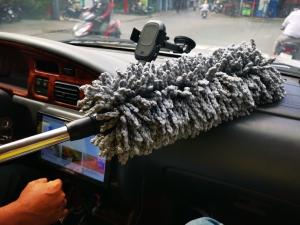 Đại lý sỉ & lẻ chổi lau quét bụi xe ô tô, nội thất, thành và nóc xe hơi cho vệ sinh xe tại nhà, gara, showroom