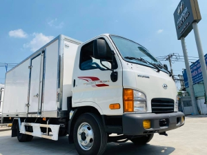 Hyundai New Mighty N250SL thùng kín Composite Giá bán và TRẢ GÓP