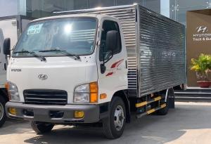 Hyundai Mighty N250SL thùng kín INOX giá tốt hỗ trợ trả góp