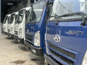 Hyundai Mighty EX8 thùng mui bạt giá cực hot - Hỗ trợ trả góp cao