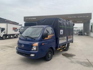 Hyundai Porter H150 1 Tấn 5 thùng mui bạt 5 bửng mở tiện lợi