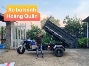 Xe Ba Bánh Có Ben, Máy 250Cc Yinxiang, Kích Thước Thùng 1M4 X 2M2 X 0,5M